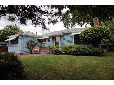 Single Family Home For Sale: 2854 SE 60th Ave