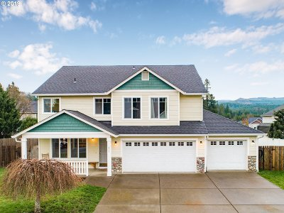 Multnomah County, Clackamas County, Washington County, Clark County, Cowlitz County Single Family Home For Sale: 411 S Maple Ave