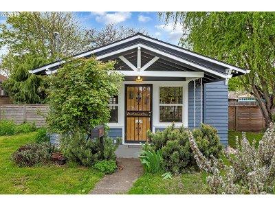 Portland Single Family Home For Sale: 9571 N Buchanan Ave