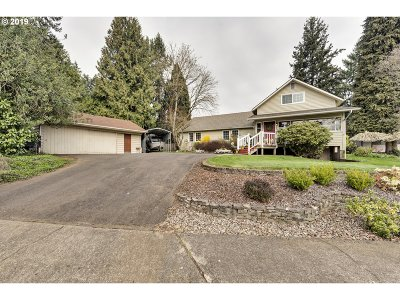 Canby Single Family Home Pending: 970 NE 13th Ave
