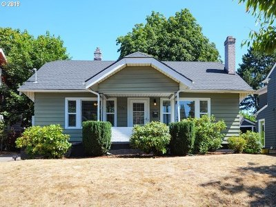 Portland Single Family Home For Sale: 3224 NE 40th Ave