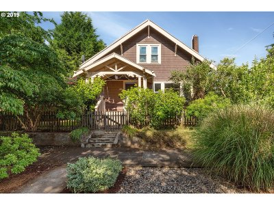 Single Family Home For Sale: 5833 N Borthwick Ave
