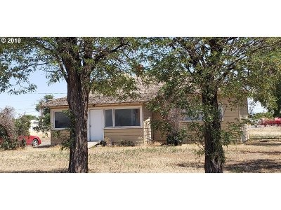Hermiston Single Family Home For Sale: 80738 Kik Rd