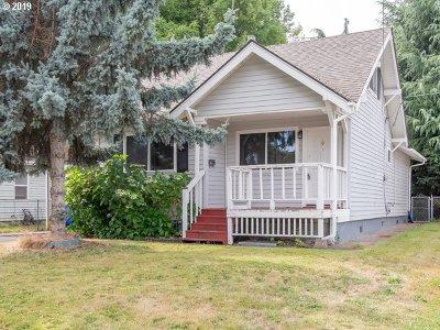 Portland Single Family Home For Sale: 10215 N Buchanan Ave