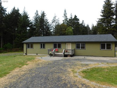 Port Orford Single Family Home For Sale: 42790 Myrtle Ln