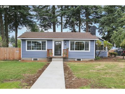Single Family Home For Sale: 1501 SE 130th Ave