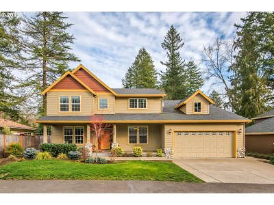 Tigard, Portland Single Family Home For Sale: 7780 SW Alden(On Quiet Lane) St