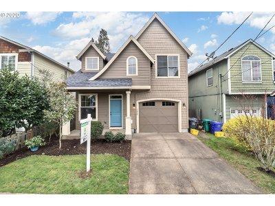 Portland Single Family Home For Sale: 7245 N Lancaster Ave
