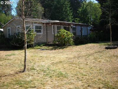 Coos Bay Single Family Home For Sale: 61451 Lower Mattson Rd
