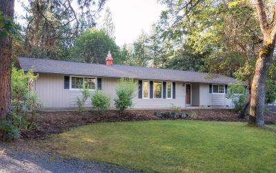 Single Family Home Sold: 761 Upper Applegate Road