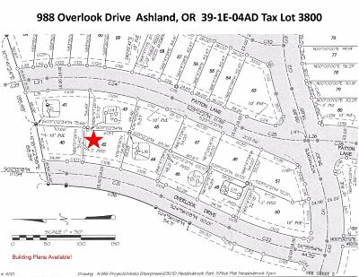 Residential Lots & Land For Sale: 988 Overlook Drive