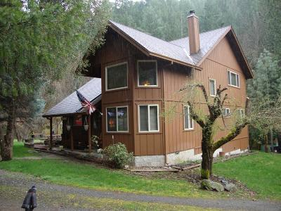 Jackson County, Josephine County Single Family Home For Sale: 1000 French Gulch Road