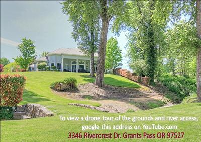 Grants Pass Single Family Home For Sale: 3346 Rivercrest Drive