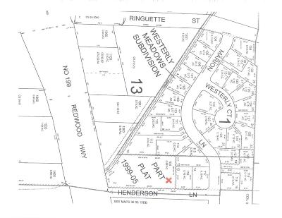 Josephine County Residential Lots & Land For Sale: SW Marion Lane