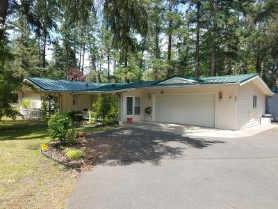 Jackson County, Josephine County Single Family Home For Sale: 339 Thompson Creek Road