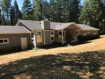 Wilderville, Wonder, Selma Single Family Home For Sale: 1501 Crooks Creek Road