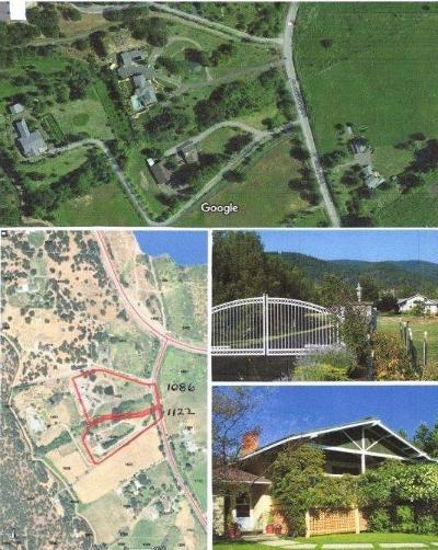 Ashland Single Family Home For Sale: 1086 Old Hwy 99 S