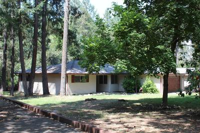 Jackson County, Josephine County Single Family Home For Sale: 1850 Upper Applegate Road