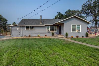 Merlin Single Family Home For Sale: 650 Pleasant Valley Road