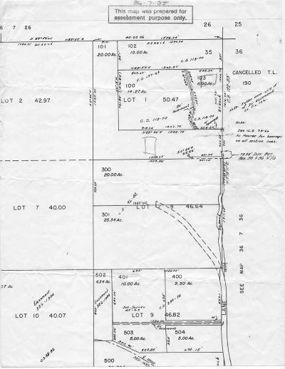 Selma, Wilderville Residential Lots & Land For Sale: Ingalls Lane