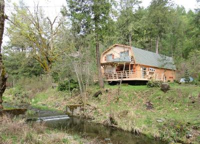 Gold Hill Single Family Home For Sale: 4600 Sardine Creek R Fork Road