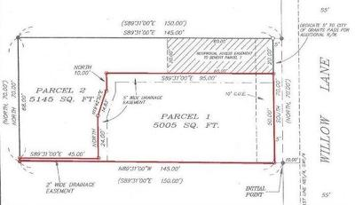 Josephine County Residential Lots & Land For Sale: 1332 Willow Lane