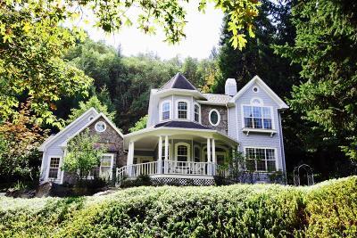 Jackson County, Josephine County Single Family Home For Sale: 550 Ashland Creek Drive