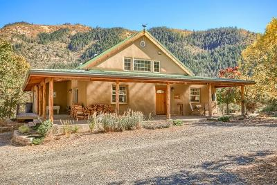 Jackson County, Josephine County Single Family Home For Sale: 8150 Upper Applegate Road