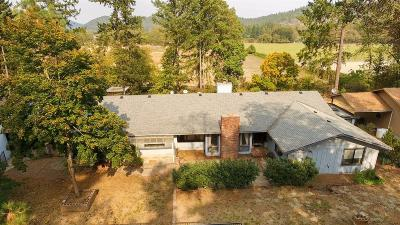 Josephine County Single Family Home For Sale: 4201 Fish Hatchery Road