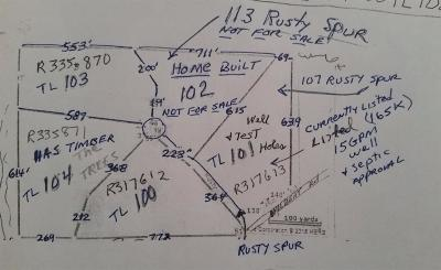Josephine County Residential Lots & Land For Sale: Rusty Spur TL103