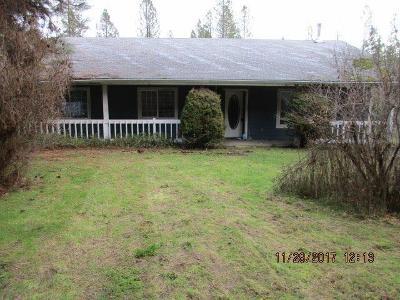 Jackson County, Josephine County Single Family Home For Sale: 1286 Pleasant Creek Road