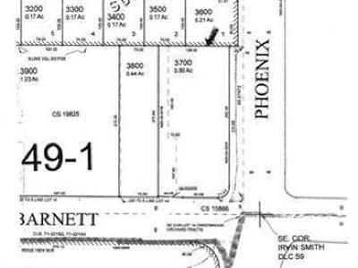 Residential Lots & Land For Sale: 3691 E Barnett Road