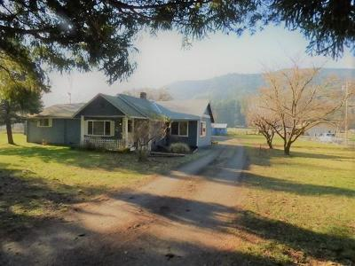 Jackson County, Josephine County Single Family Home For Sale: 635 W Evans Creek Road