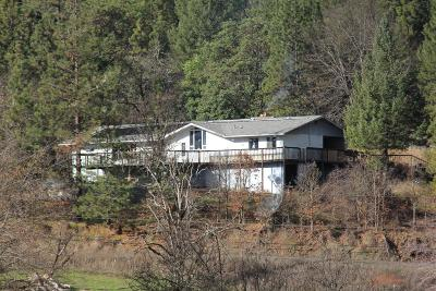 Jackson County, Josephine County Single Family Home For Sale: 19649 E Evans Creek Road