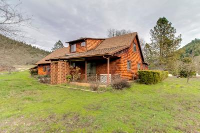 Rogue River Single Family Home For Sale: 14375 E Evans Creek Road