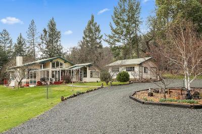 Grants Pass Single Family Home For Sale: 8050 N Applegate Road