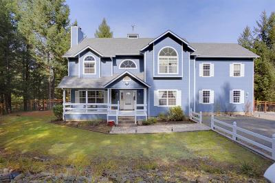 Grants Pass Single Family Home For Sale: 5457 Fish Hatchery Road