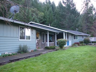 Rogue River Single Family Home For Sale: 1260 E Evans Creek Road