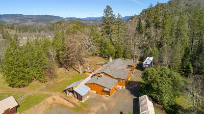 shady cove Single Family Home For Sale: 2800 Indian Creek Road