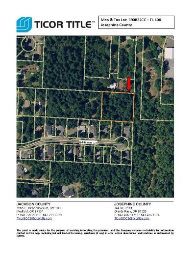Cave Junction Residential Lots & Land For Sale: S Old Stage Road