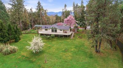 Josephine County Single Family Home For Sale: 8227 Lower River Road