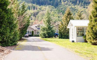 Gold Hill Single Family Home For Sale: 5369 Rogue River Highway