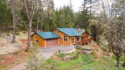 Grants Pass Single Family Home For Sale: 490 W Pickett Creek Road Road