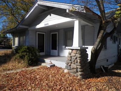 Ashland Single Family Home For Sale: 995 Siskiyou Boulevard