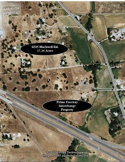Jackson County, Josephine County Residential Lots & Land For Sale: 6535 Blackwell Road