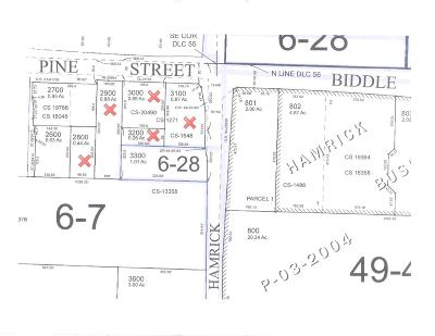 Jackson County, Josephine County Residential Lots & Land For Sale: E Pine Street