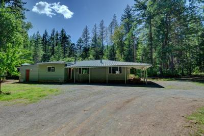 Jackson County, Josephine County Single Family Home For Sale: 6899 W Evans Creek Road