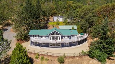 Grants Pass Single Family Home For Sale: 1240 W Jones Creek Road