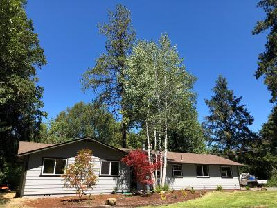 Merlin, Sunny Valley, Wimer, Rogue River, Wilderville, Grants Pass, Hugo, Murphy, Wolf Creek Single Family Home For Sale: 1560 Hugo Road