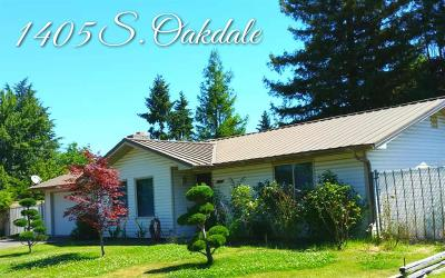 Medford Single Family Home For Sale: 1405 S oakdale Avenue